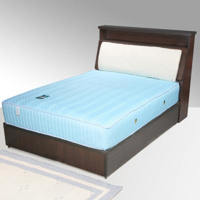 Homelike 黛絲3.5尺床組+獨立筒床墊-單人(二色任選)