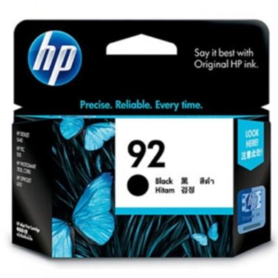 HP C9362WA #92 原廠黑色墨水匣