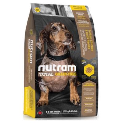 Nutram紐頓 T27無穀迷你犬火雞配方 2.72kg【2136】