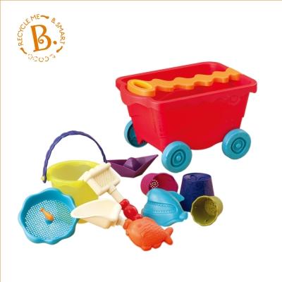 B.Toys 挖挖兵拉拉車(番茄紅)