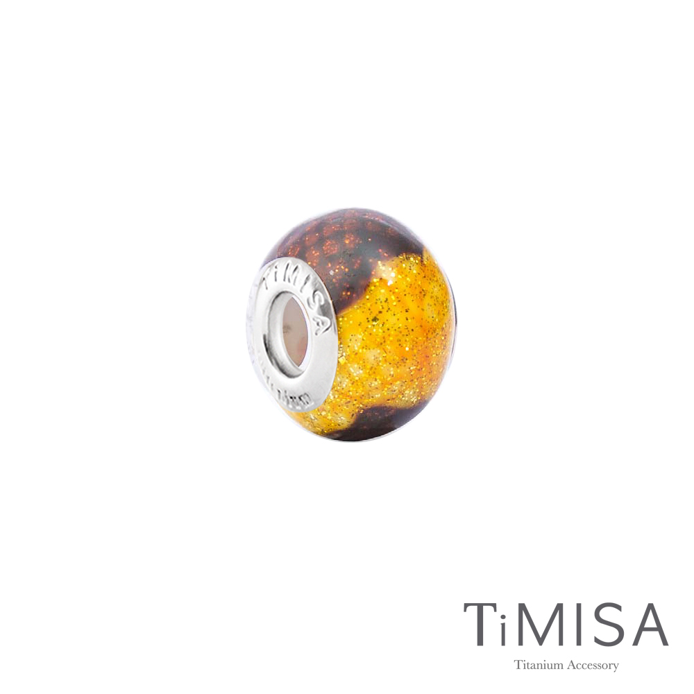 TiMISA Honey(11mm)純鈦琉璃 墜飾串珠