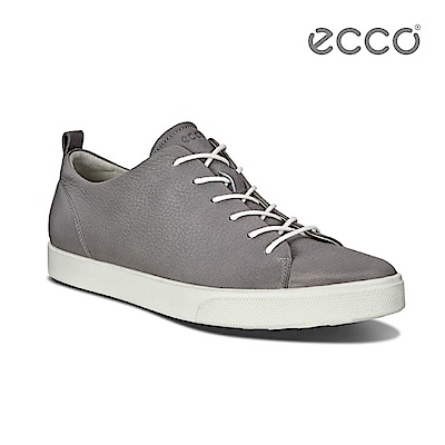 ECCO GILLIAN 質感時尚尖頭休閒鞋-灰