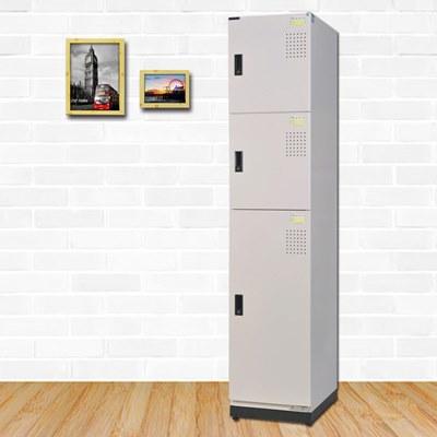 時尚屋 史蒂夫多用途鋼製置物櫃 寬39x深51x高185cm