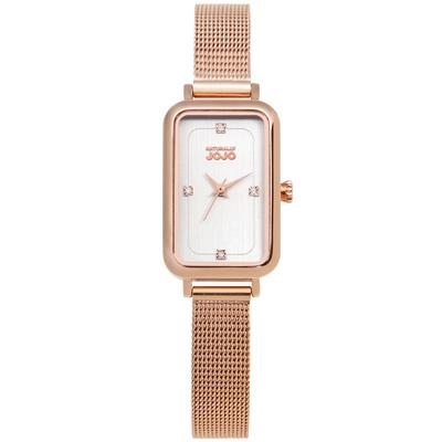 NATURALLY JOJO 閃耀舞臺米蘭時尚腕錶-JO96915-80R-20X30mm