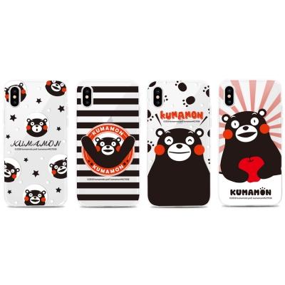 GARMMA 熊本熊 iPhone X 空壓氣墊防摔保護軟殼