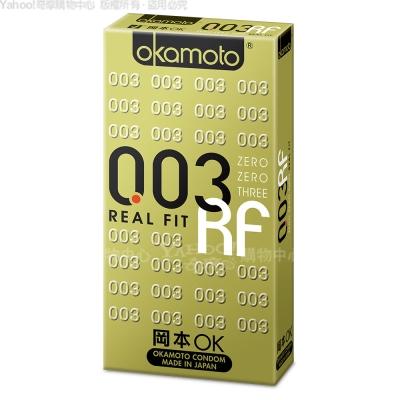 Okamoto岡本 003 RF極薄貼身保險套(6入裝)(快速到貨)