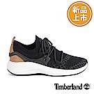 Timberland 女款FlyRoam Go黑色皮革飛型鞋