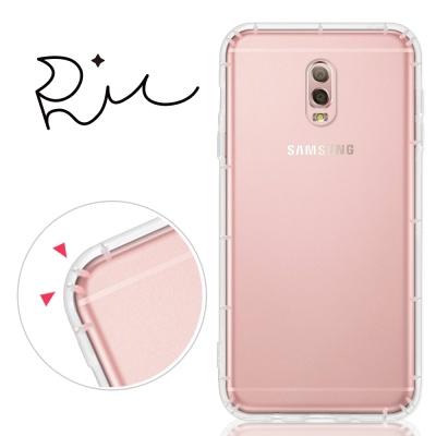 RedMoon 三星 Galaxy J7+ 防摔透明TPU手機軟殼