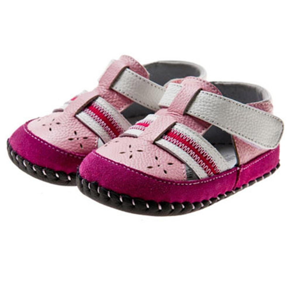 【littlebluelamb】真皮防滑學步鞋li124(5號)