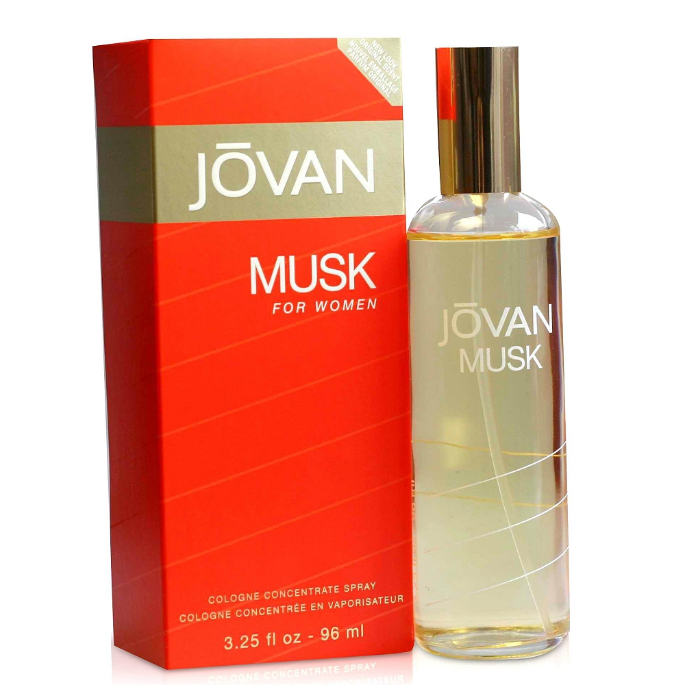 Jovan Musk Cologne For Women Spray 麝香女香 96 ml