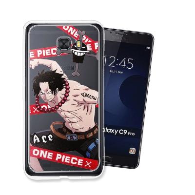 航海王 Samsung Galaxy C9 Pro 透明軟式手機殼(封鎖艾斯)