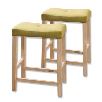 Bernice- 簡約吧檯椅兩入組(四色可選)-45x29x60cm