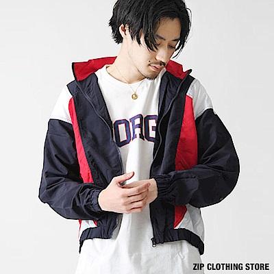 運動尼龍夾克(4色) ZIP日本男裝