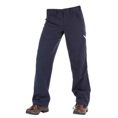 【Berghaus 貝豪斯】女款超潑水抗UV長褲H31FG4-藍
