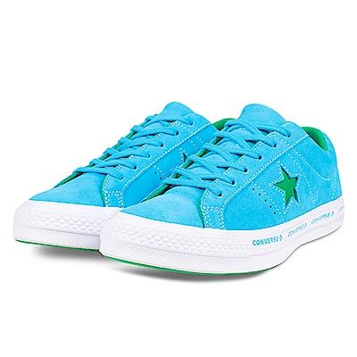 CONVERSE-男休閒鞋159813C-水藍