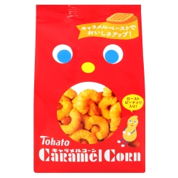 Tohato東鳩 焦糖玉米脆果(80g)