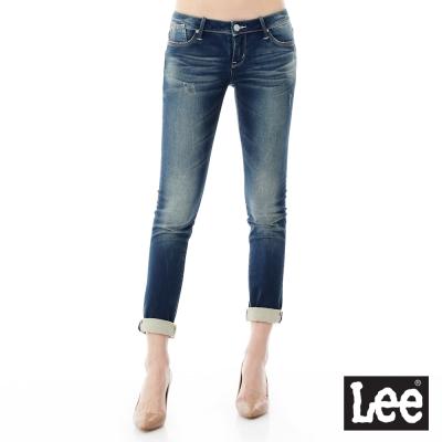 Lee 牛仔褲Jade Fusion冰精玉石 403 超低腰合身窄管 女