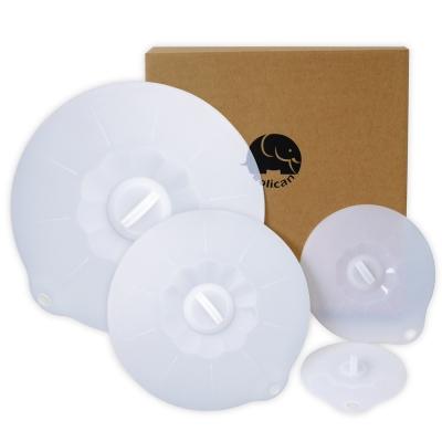 Rolican樂立康矽膠四件式保鮮蓋組