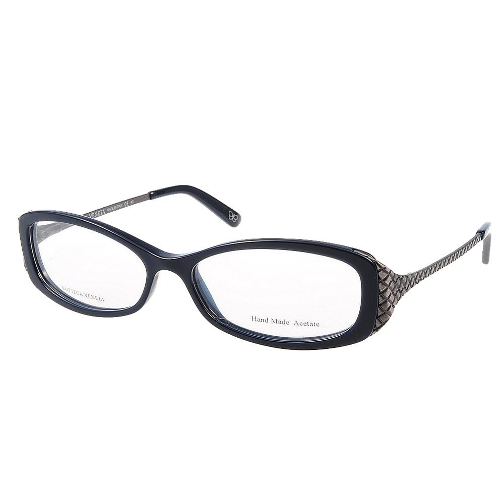 BOTTEGA VENETA眼鏡 頂級精品#寶藍(近似黑色)BV152 RI9