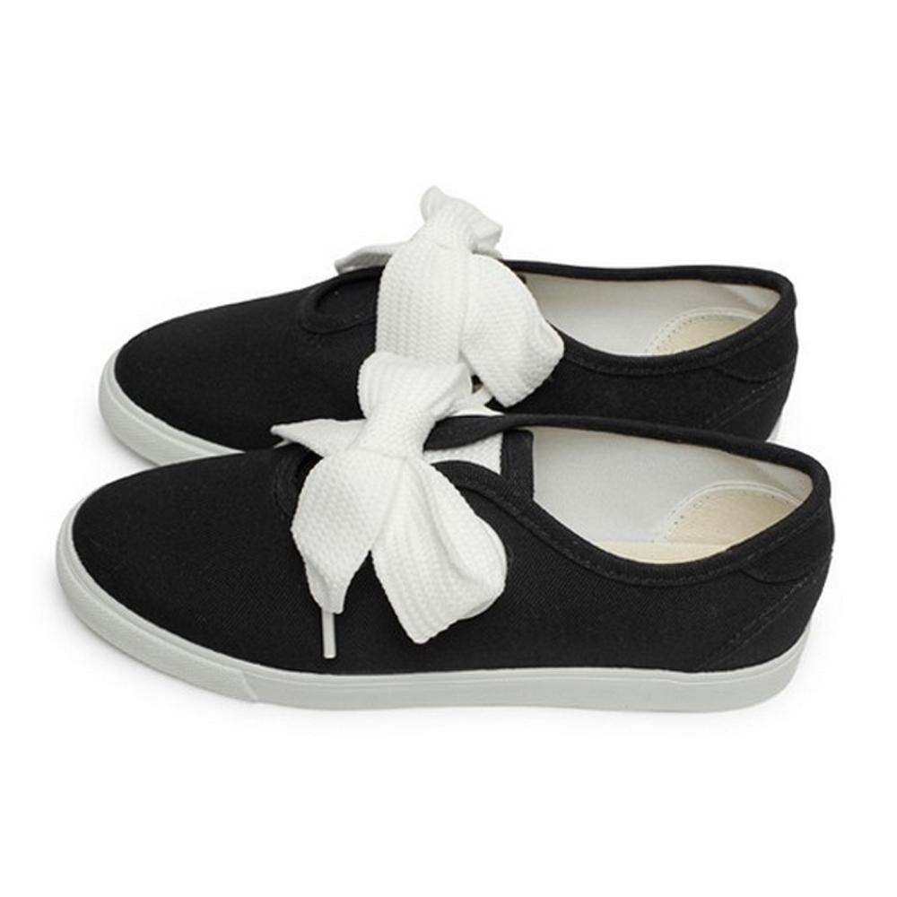 FUFA  MIT 粗條鞋帶休閒鞋 (T80)-黑色