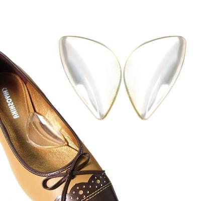 足的美形 透明矽膠腳窩蝴蝶墊(4雙)