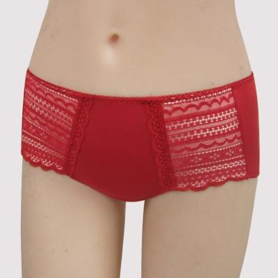 瑪登瑪朵 15秋冬S-Select 包覆 低腰平口萊克褲(蜜月紅)