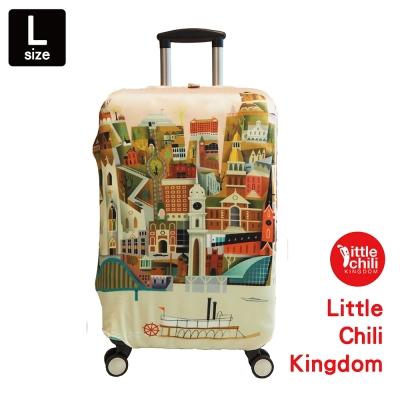 LittleChili行李箱套541-希臘-L
