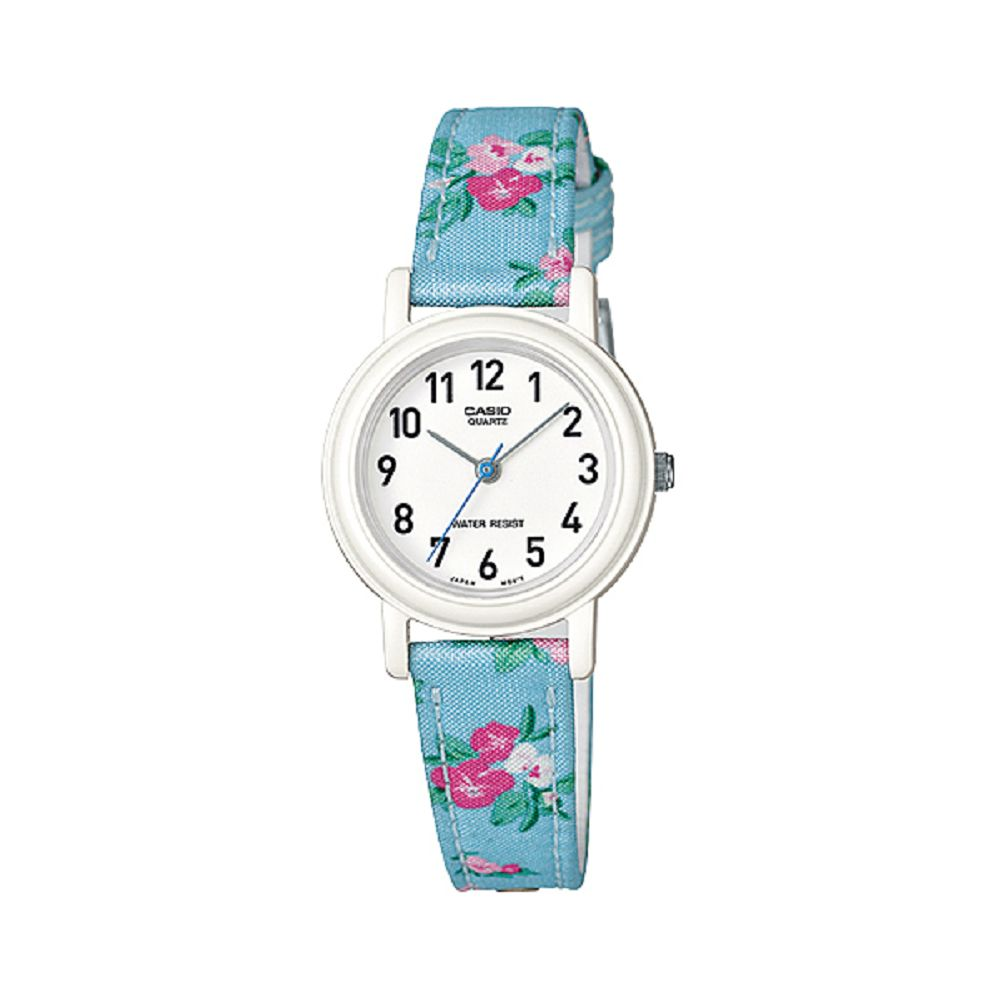 CASIO 復古美學花香氣息指針腕錶(LQ-139LB-2B2)-藍26mm