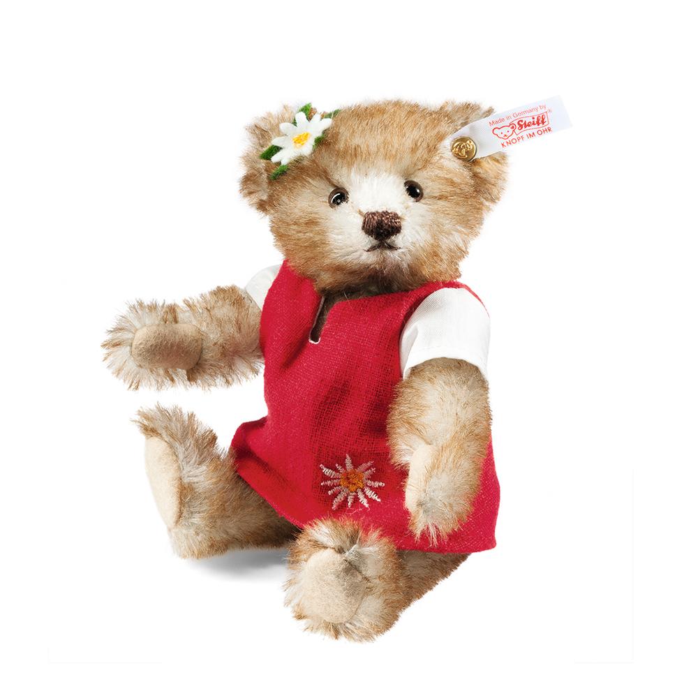 STEIFF德國金耳釦泰迪熊 - Heidi Teddy Bear (限量版)