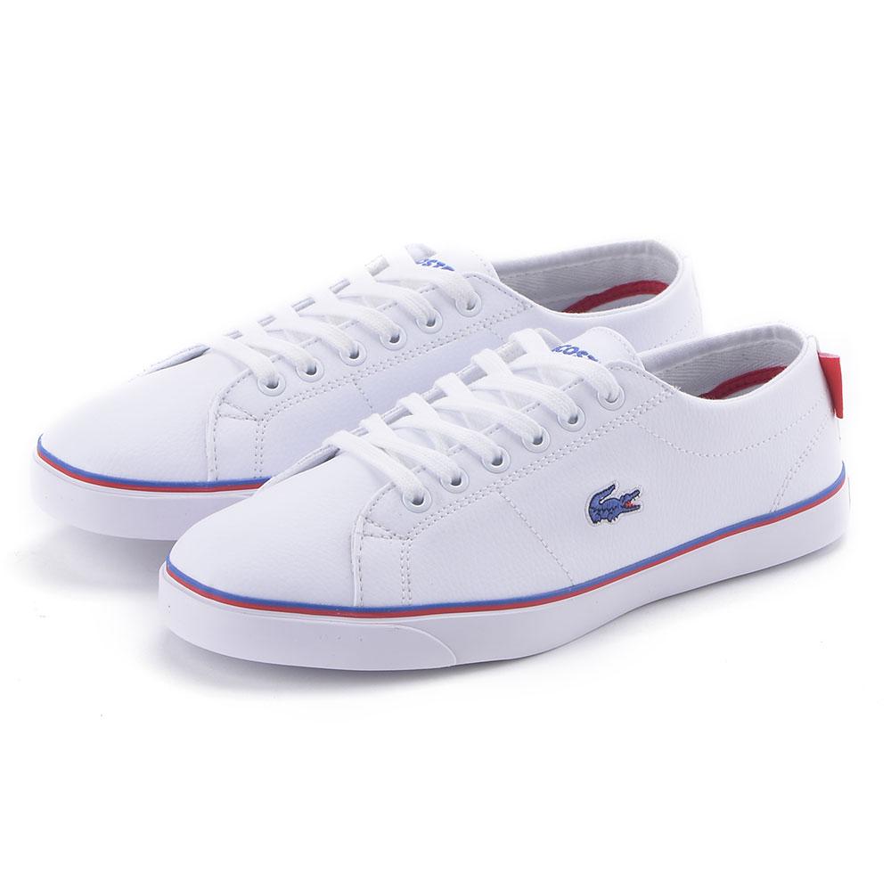 LACOSTE marcel 女用休閒鞋-白色
