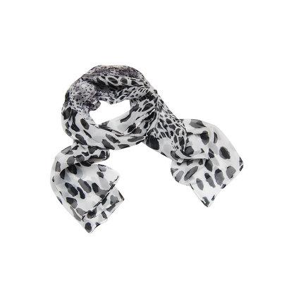 ACUBY 豹紋個性薄圍巾