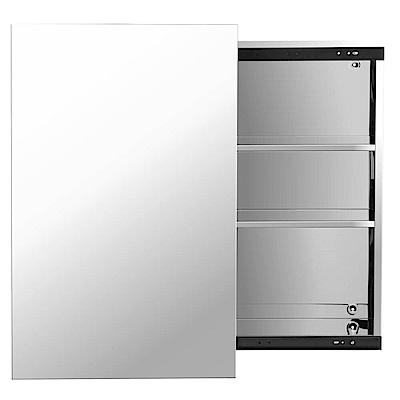 TRENY 浴室鏡箱-滑門-不鏽鋼