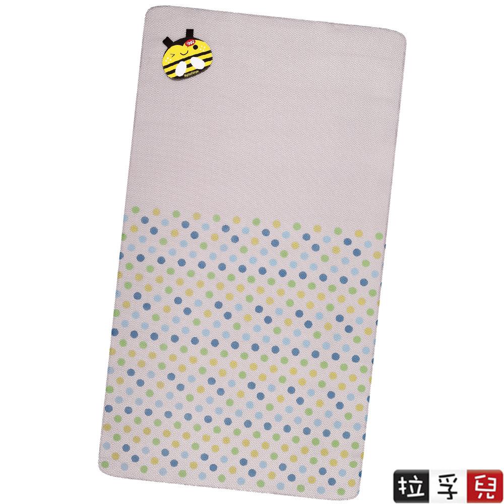 【拉孚兒 Naforye】會呼吸嬰兒床通用透氣薄墊-蜜蜂