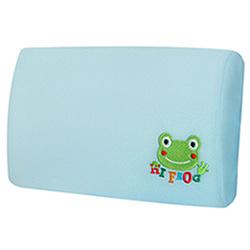 【Hifrog】台灣製造多用途高密度記憶午安枕/車頭枕-防蹣抗菌枕套