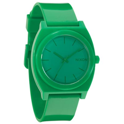 NIXON TIME TELLER P躍動普普個性腕錶-綠/40×37mm
