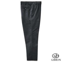 GIBBON 中大尺碼天絲棉直紋長褲‧灰色38~54
