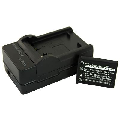 電池王 For BenQ DLi-216 高容量鋰電池+充電器組