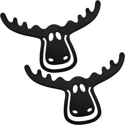 KOZIOL 麋鹿書籤(黑<b>2</b>入)