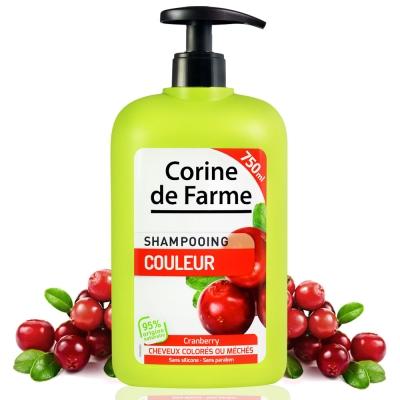 法國黎之芙 蔓越莓護色亮采洗髮乳750ml
