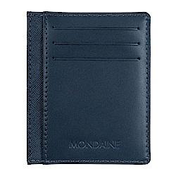 MONDAINE 瑞士國鐵牛皮6卡卡片夾-兩色可選