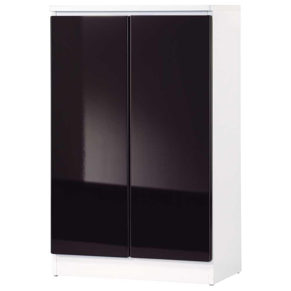 夢想家 威尼斯2尺兩密門鏡面PU書櫃