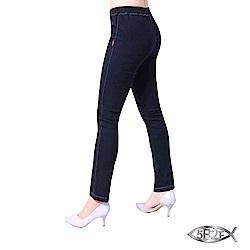 5B2F 五餅二魚 套染內磨毛牛仔褲