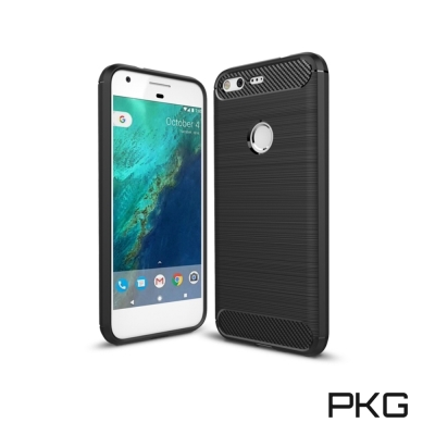 PKG  Google Pixel /Pixel XL抗震防摔手機殼-碳纖維紋