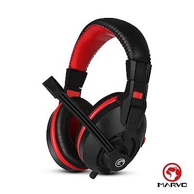 【MARVO】毒蠍H8321 電競耳罩式耳機