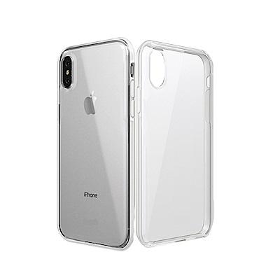 innerexile iPhoneX 5.8吋 crystal 雙料材質透明手機...