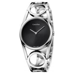 Calvin Klein CK Round 紐約時裝手環錶-M K5U2M141
