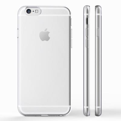 透明殼專家iPhone6 Plus 5.5吋全包極薄TPU.高透光軟質保護殼+保...