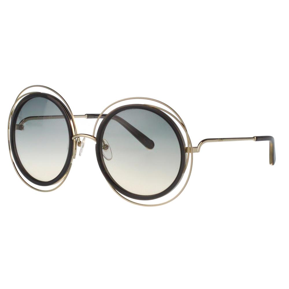 CHLOE太陽眼鏡 氣質大圓框(金色框)CE120S-731