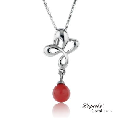 【大東山珠寶】全紅珊瑚項鍊墬飾 四季平安