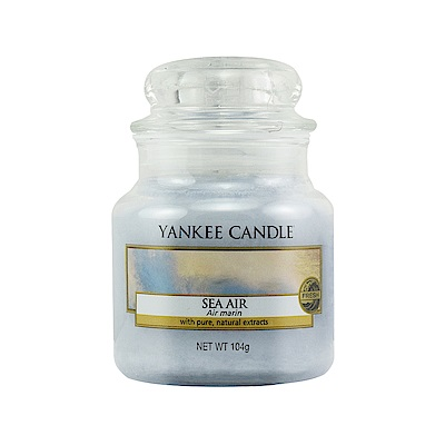 YANKEE CANDLE 香氛蠟燭-海的氣味104g